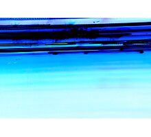 Iight Painting of Inverted Car Lights At The Speed of Light Photographic Print