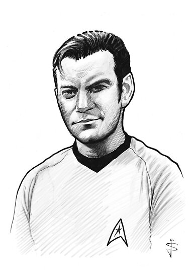 Caricature - Kirk by Jan Szymczuk
