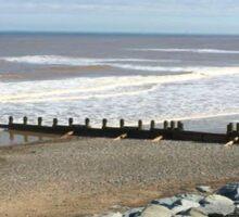The seaside  Sticker