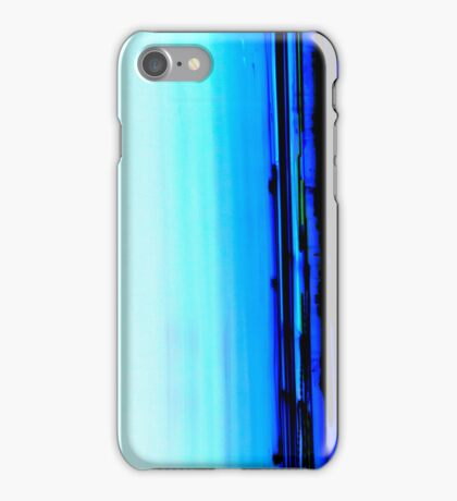 Iight Painting of Inverted Car Lights At The Speed of Light iPhone Case/Skin
