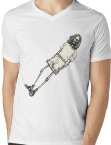 Breakbot (Skeleton style) Mens V-Neck T-Shirt