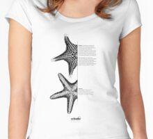 *G E O M E T R I A*  Starfish Women's Fitted Scoop T-Shirt