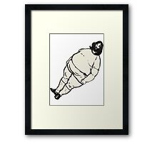 Fat Breakbot Framed Print