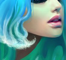 Sea Goddess Sticker