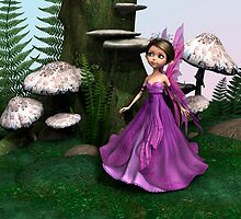 Fairy in Woodland by Vac1
