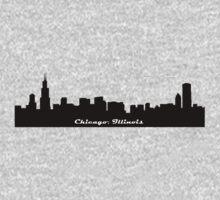 Chicago Skyline Kids Tee