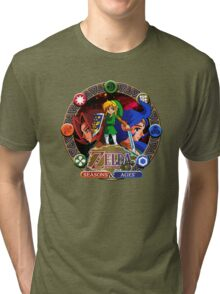 Zelda Oracles Tri-blend T-Shirt