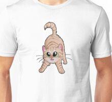 Chibi Red Cat Unisex T-Shirt