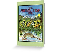 Shovel fish Vintage Sheet Music Cover Greeting Card