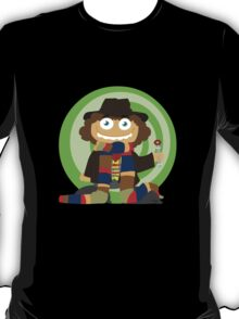 Doctor Blocks (4th Doctor) T-Shirt