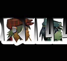 Gorillaz by Geoffgroth