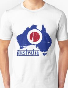 Mod Australia Distressed T-Shirt