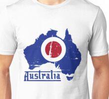 Mod Australia Distressed Unisex T-Shirt