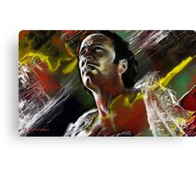 Messager featured in Solo Exhibition Canvas Print