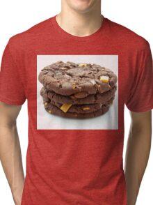 Chocolate Chip Cookies x4 Tri-blend T-Shirt