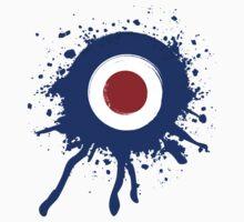 Paint splattered mod target by Auslandesign