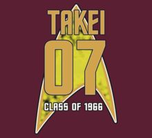 CLASS OF 1966: TAKEI by inkpossible