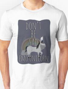 Don't Be Sad Emo Unicorn T-Shirt