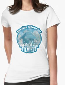 The Last Film Hut Womens Fitted T-Shirt
