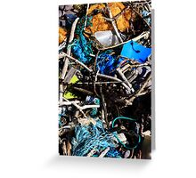 Arrives On A Wave - Seaside Abstract Greeting Card