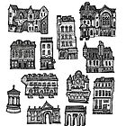 Little Edinburgh (TILED PATTERN) by Peony Gent