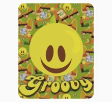 Groovy 70's Smiley by mytshirtfort