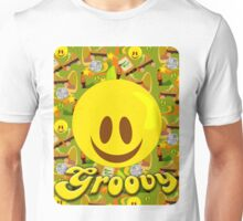 Groovy 70's Smiley Unisex T-Shirt