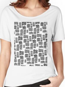 Little Edinburgh (TILED PATTERN) Women's Relaxed Fit T-Shirt