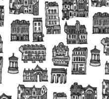 Little Edinburgh (TILED PATTERN) Sticker