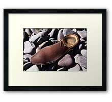 Beech Sole - Seaside Abstract Framed Print