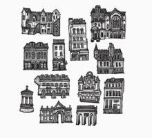 Little Edinburgh (CENTRE PATTERN) by Peony Gent