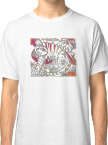 Tiger in Red After Franz Marc Classic T-Shirt