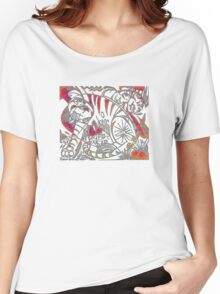 Tiger in Red After Franz Marc Women's Relaxed Fit T-Shirt