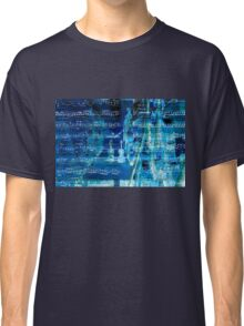 Violins and music notes Classic T-Shirt