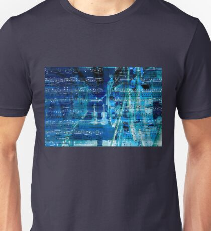 Violins and music notes Unisex T-Shirt