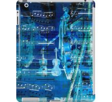 Violins and music notes iPad Case/Skin