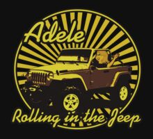 Adele - Rolling In The Jeep Baby Tee