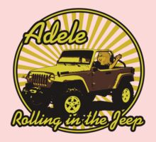 Adele - Rolling In The Jeep Kids Tee