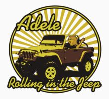 Adele - Rolling In The Jeep One Piece - Long Sleeve
