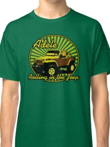 Adele - Rolling In The Jeep Classic T-Shirt