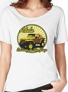 Adele - Rolling In The Jeep Women's Relaxed Fit T-Shirt
