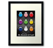 The Rainbow Of Yoshi Framed Print