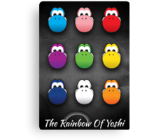The Rainbow Of Yoshi Canvas Print