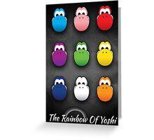 The Rainbow Of Yoshi Greeting Card