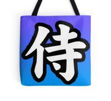 Samurai - Kanji Tote Bag