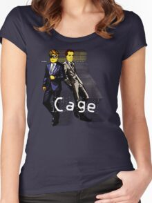 Cage Women's Fitted Scoop T-Shirt