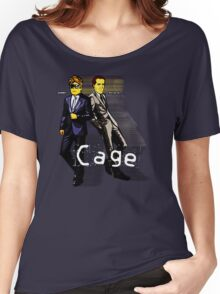 Cage Women's Relaxed Fit T-Shirt