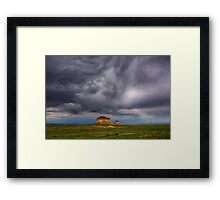 Pawnee Buttes Framed Print