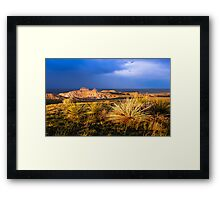 Pawnee Buttes Framed Print