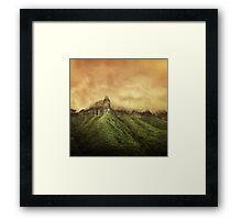 Corvus Peak Framed Print